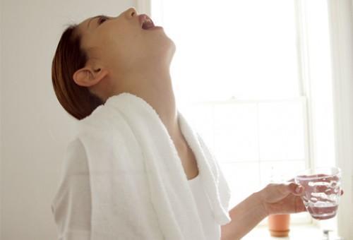 Gargarejos e saúde bucal